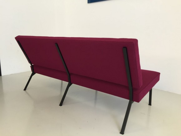 Elastique Vintage Furniture Mid Century Bebek Sofa 4