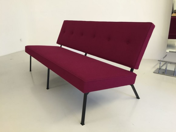 Elastique Vintage Furniture Mid Century Bebek Sofa 6