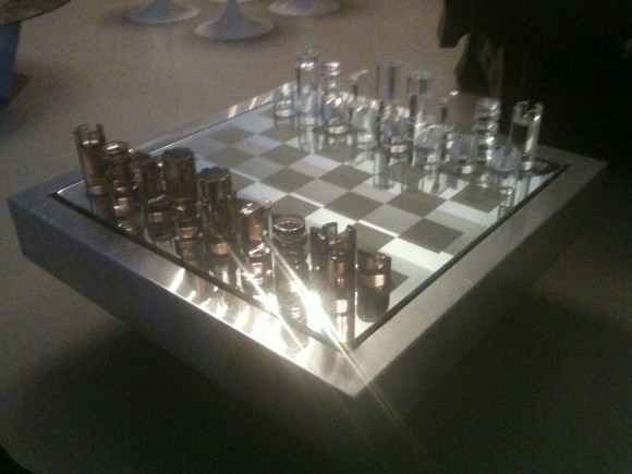 Elastique Vintage Schach Tisch Chess Table Dumas 4