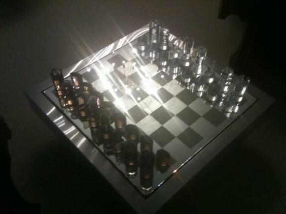 Elastique Vintage Schach Tisch Chess Table Dumas 5