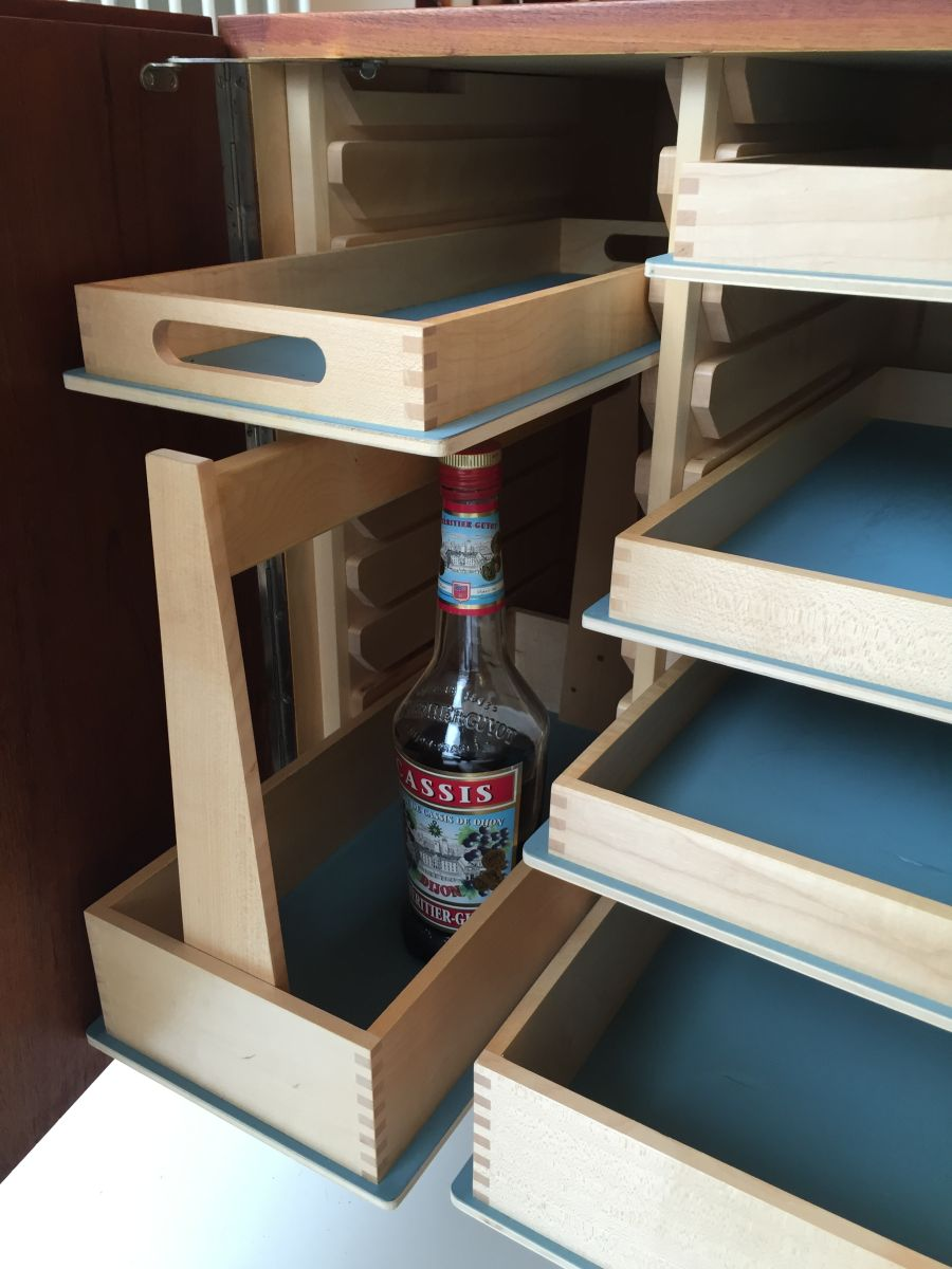 Großartig Kleines Sideboard Sammlung Von Dieter Waeckerlin Idealheim Teak 3