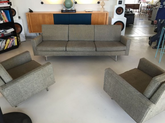 Florence Knoll Sofa And Two Chairs 1
