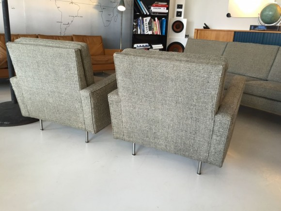 Florence Knoll Sofa And Two Chairs 2