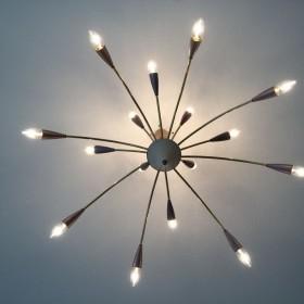 Sputnik-Lampe von 1955