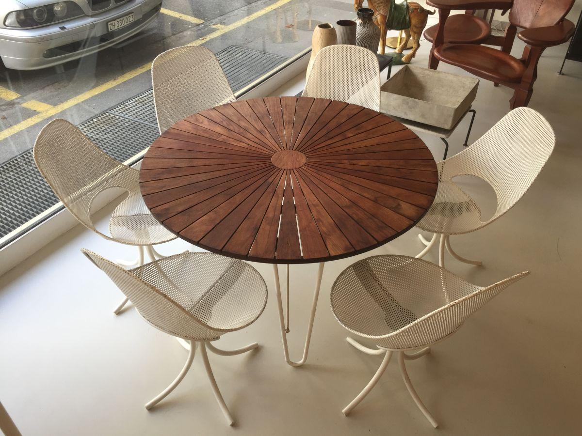 elastique vintage möbel furniture zürich schweiz – 60s-Gartenstühle ...