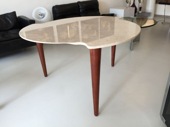 Elastique Zurich Marmortisch Dreibeinig 3 Legged Table 3