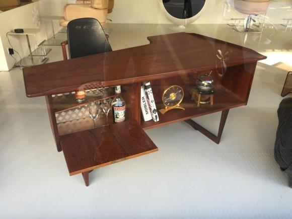 Elastique Zurich Peter Lovig Nielsen Desk Teak Denmark 4