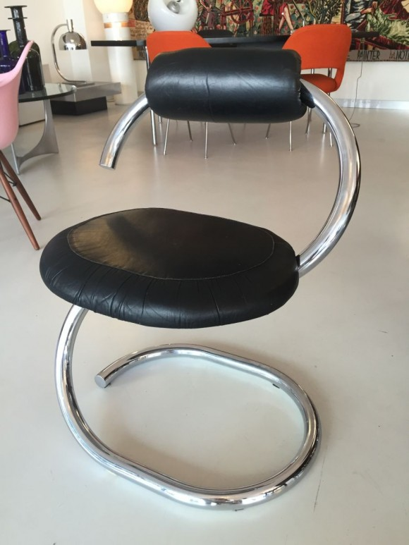 Elastique Zurich Vintage Giotto Stoppino Serpent Chairs Stuehle 2