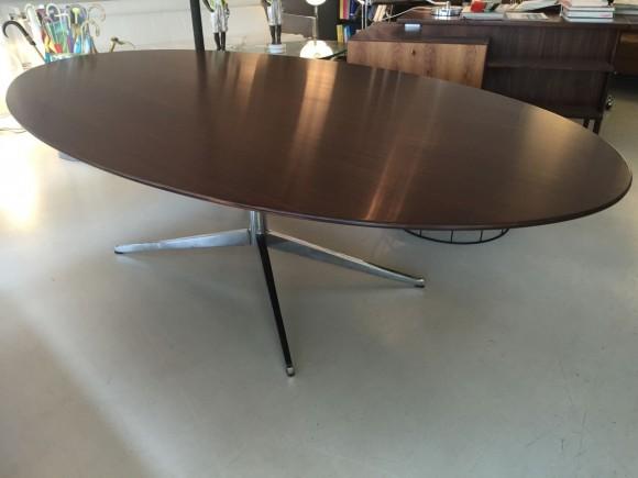 Elastique Vintage Zurich Florence Knoll Table Tisch Palisander Rosewood 1
