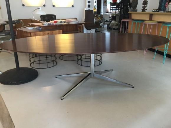 Elastique Vintage Zurich Florence Knoll Table Tisch Palisander Rosewood 3