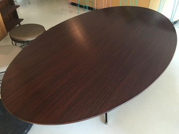 Elastique Vintage Zurich Florence Knoll Table Tisch Palisander Rosewood 4