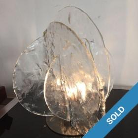 Tischlampe von Mazzega Murano