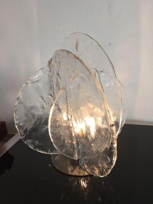 Elastique Vintage Zurich Mazzega Table Lamp 3