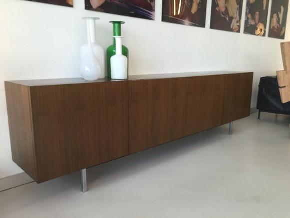 Elastique Vintage Zurich Nussbaum Sideboard 1960 1