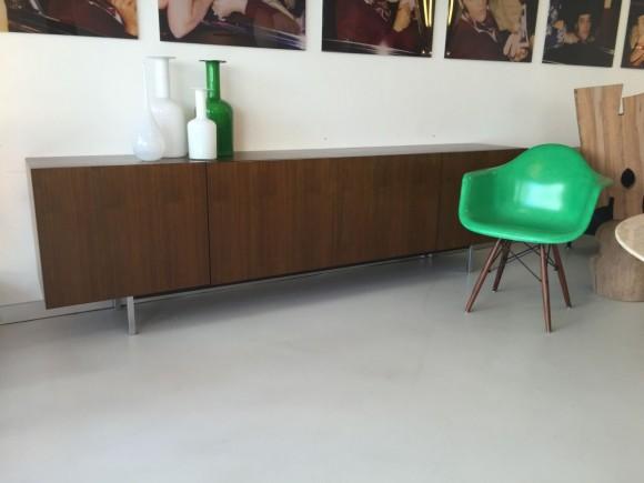 Elastique Vintage Zurich Nussbaum Sideboard 1960 2