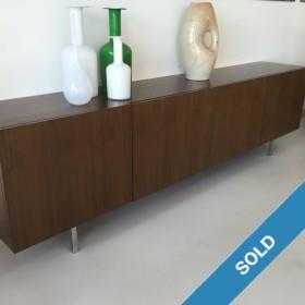 Nussbaum-Sideboard von 1960