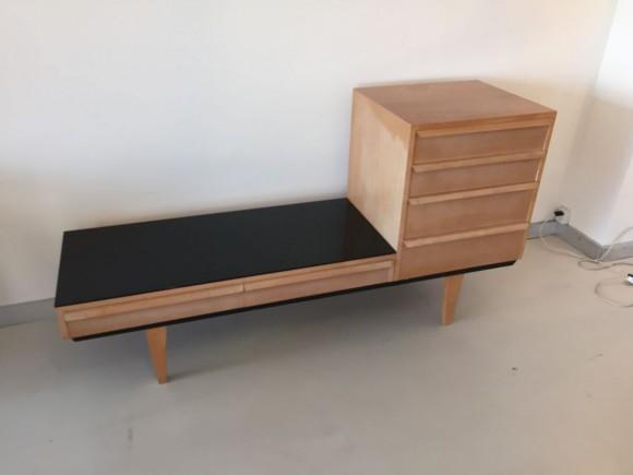 Elastique Vintage Zurich Schubladenm  Bel Sideboard Alfred Altherr 1960 3