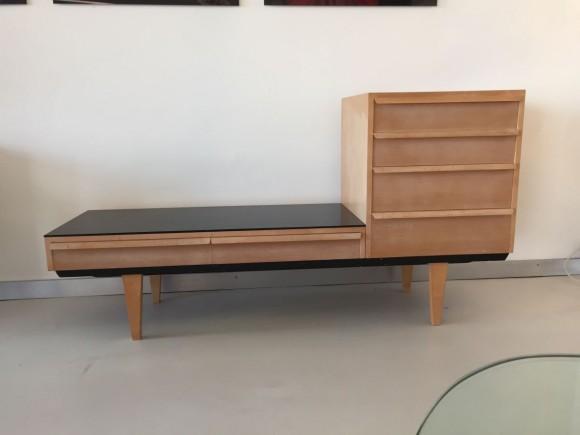 Elastique Vintage Zurich Schubladenm  Bel Sideboard Alfred Altherr 1960 2