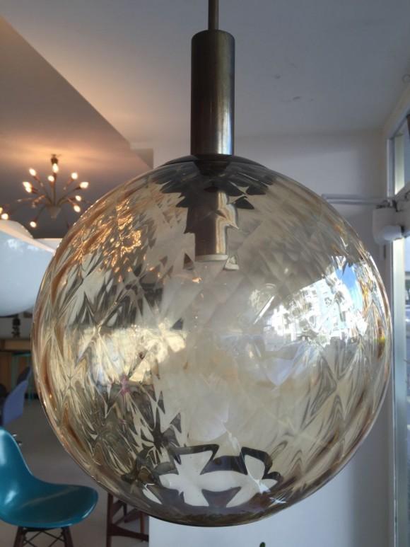 Elastique Vintage Zurich Six Balloton Murano Glass Lamps 1