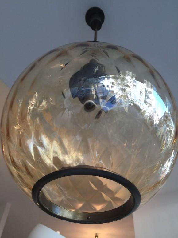 Elastique Vintage Zurich Six Balloton Murano Glass Lamps 3