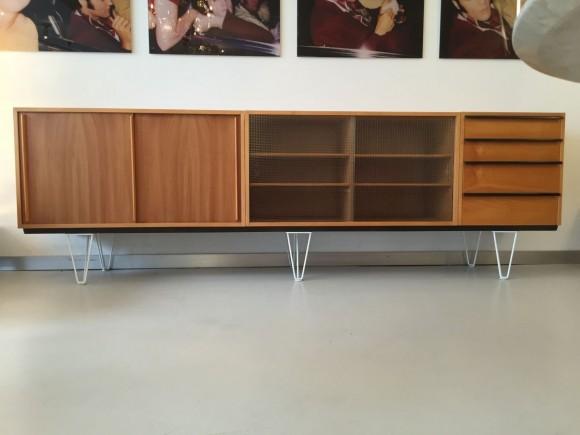 Elastique Vintage Zurich Alfred Altherr Sideboard Credenza 6