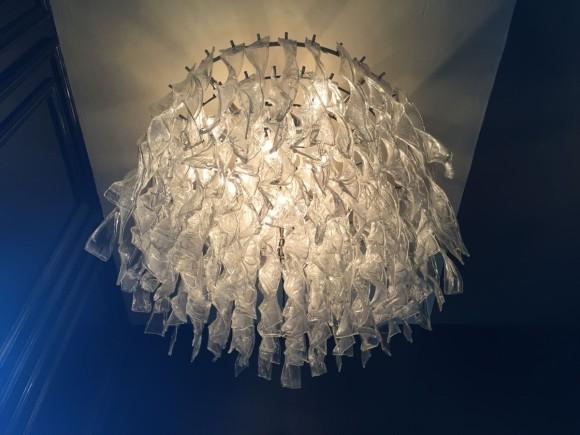 Elastique Vintage Zuerich Glasspiralen Glass Spiral Lampe Lamp 1