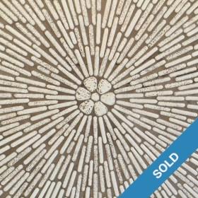 Ovaler Mosaiktisch von ca. 1960