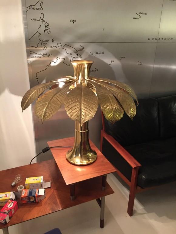 Elastique Vintage Zuerich Palmenlampe Palm Lamp Barbi Style 5