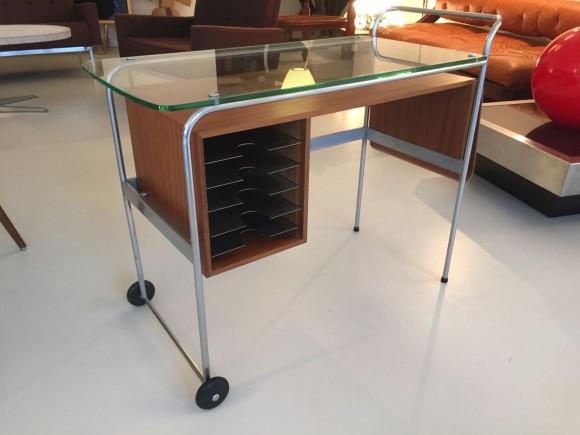 Elastique Vintage Zuerich Rolling Desk Mobiles Pult Schreibtisch 1