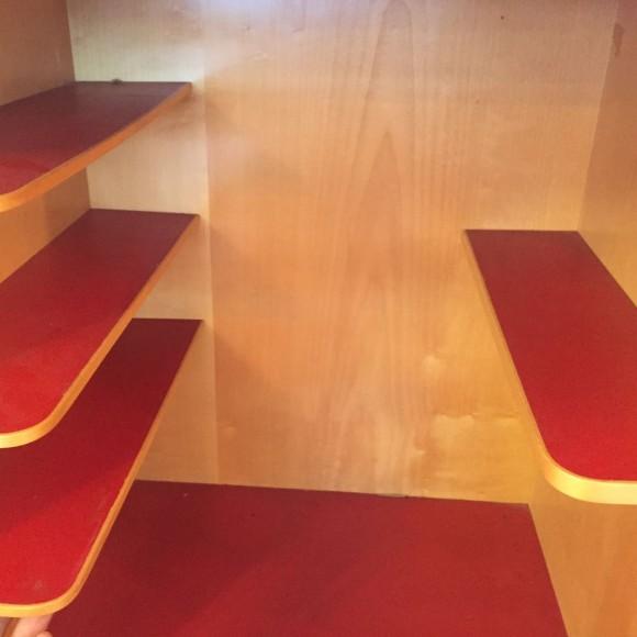 Elastique Vintage Zuerich Sideboard Maple Ahorn Werner Gantenbein 3