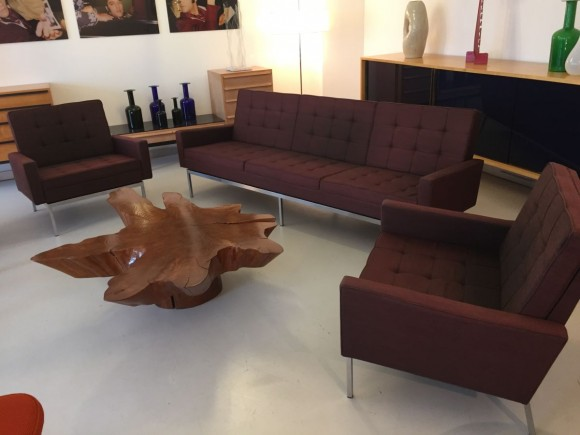 Elastique Vintage Zuerich Sitzgruppe Sofa Sessel Chair Florence Knoll 2