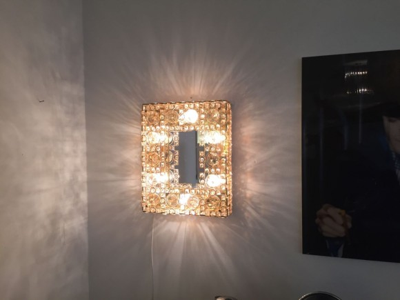 Elastique Vintage Zuerich Spiegel Mirror Palwa Lobmeyr Style 3