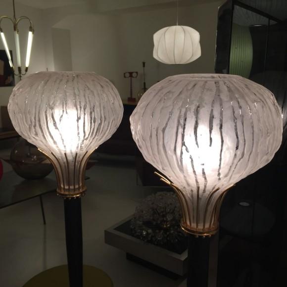 Elastique Vintage Zuerich Stehlampen Frankreich 1950 4