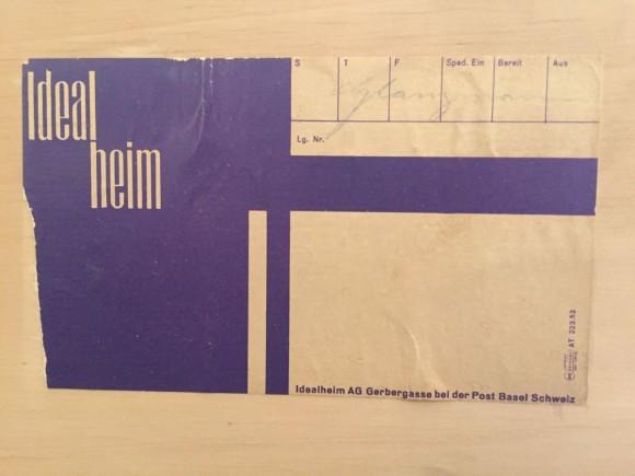 Elastique Vintage Zuerich Sideboard B40 Dieter Waeckerlin Idealheim 7