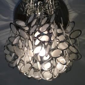 Deckenlampe von Mazzega