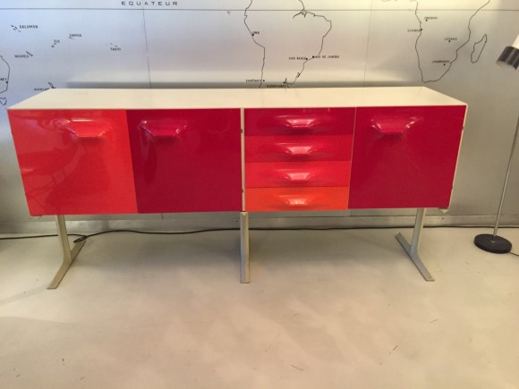 Elastique Vintage Zuerich Raymond Loewy Sideboard 7