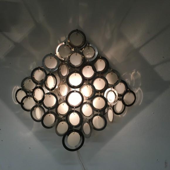 Elastique Vintage Zuerich Wandlampe Wall Lamp Mazzega Nason Italien 1970 1
