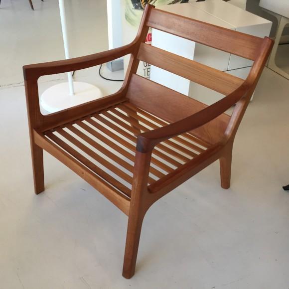 Elastique Vintage Zuerich Ole Wanscher Senator Chair Teak 2