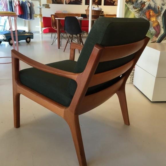 Elastique Vintage Zuerich Ole Wanscher Senator Chair Teak 3