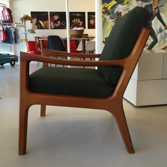Elastique Vintage Zuerich Ole Wanscher Senator Chair Teak 4