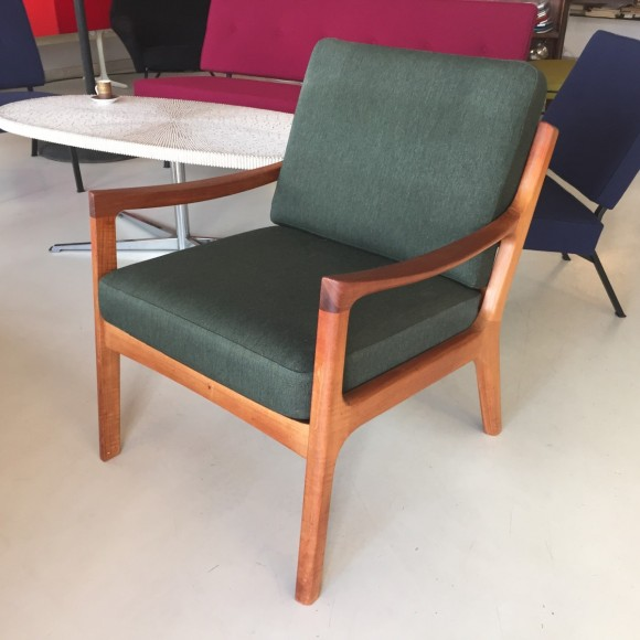 Elastique Vintage Zuerich Ole Wanscher Senator Chair Teak 6