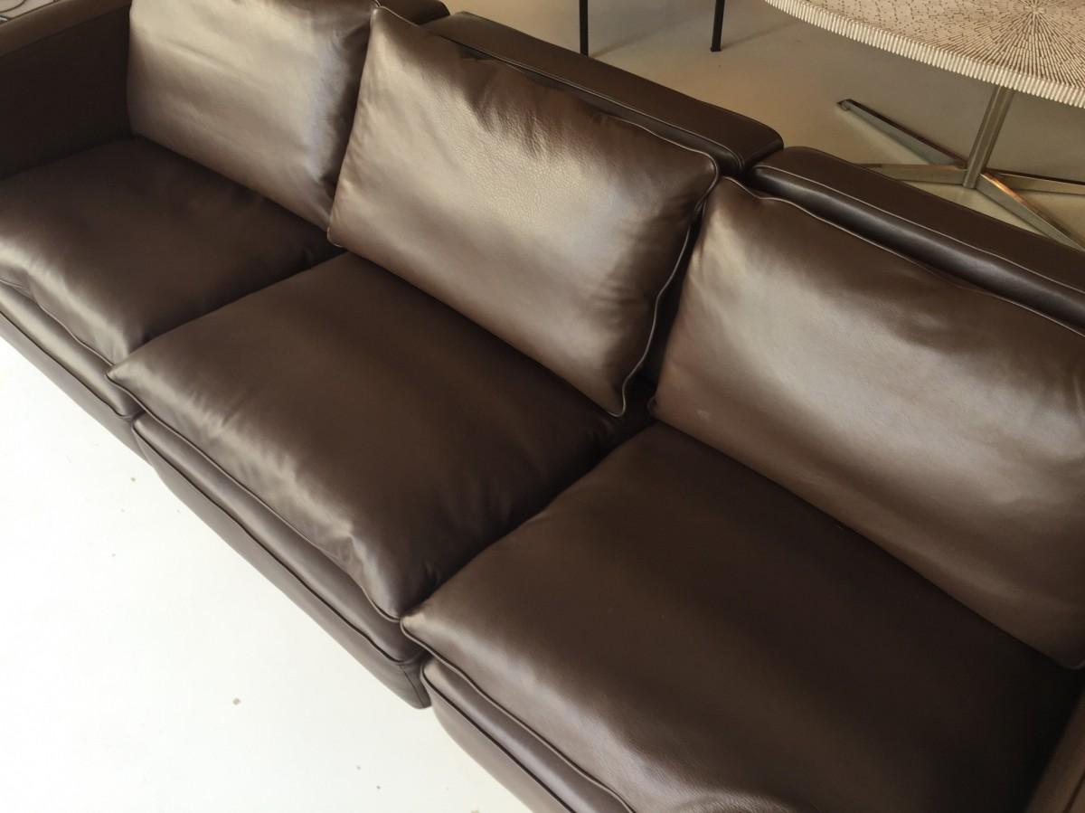 rh möbel klassiker elastique vintage zuerich sofa ledersofa rh 302 robert haussmann elastique vintage möbel furniture zürich schweiz