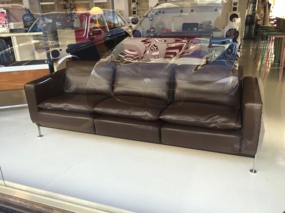 Elastique Vintage Zuerich Sofa Ledersofa Rh 302 Robert Haussmann 5