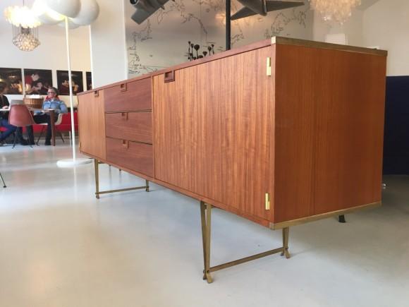 Elastique Vintage Zuerich Teak Sideboard Fristho 2