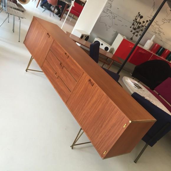 Elastique Vintage Zuerich Teak Sideboard Fristho 5