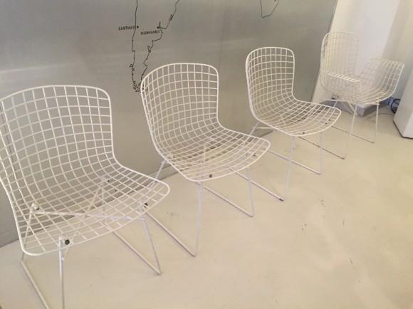 Elastique Vintage Moebel Zuerich Bertoia Style Garden Chairs Gartenstuehle 1