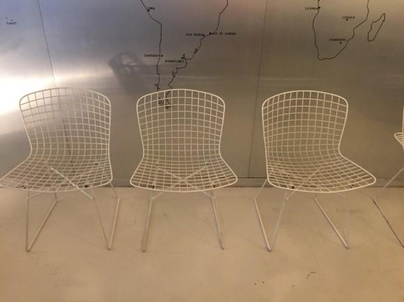 Elastique Vintage Moebel Zuerich Bertoia Style Garden Chairs Gartenstuehle 2