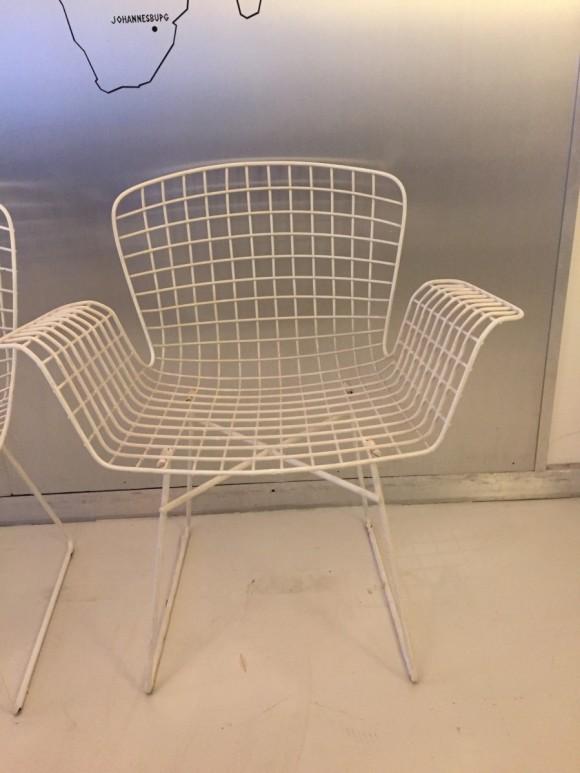 Elastique Vintage Moebel Zuerich Bertoia Style Garden Chairs Gartenstuehle 3