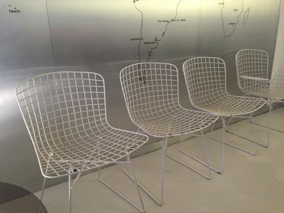 Elastique Vintage Moebel Zuerich Bertoia Style Garden Chairs Gartenstuehle 4