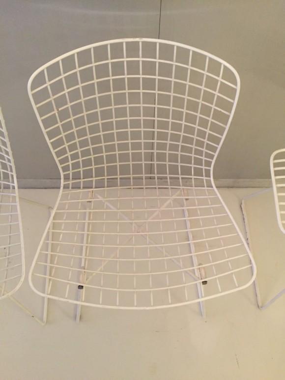 Elastique Vintage Moebel Zuerich Bertoia Style Garden Chairs Gartenstuehle 5